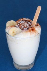 Walnuss Bananen Milchshake