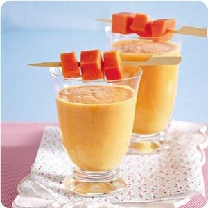 Papaya Kefir Smoothie